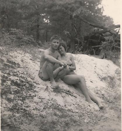 Papa & Grandma at the Beach